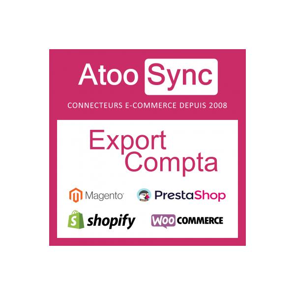 Connecteur Compta CIEL SAGE / Prestashop - Abonnement annuel